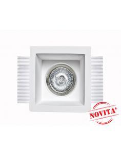 0035 Spotlight in Plaster, Concealed
