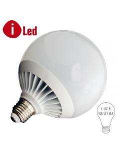LED GLOBE E27 18 WATT 4000K PLUS