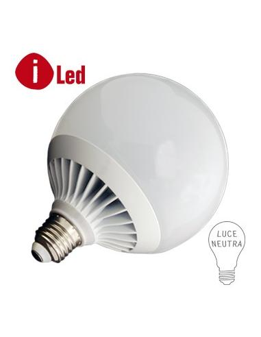 LED GLOBE E27 18 WATT 4000K PLUS