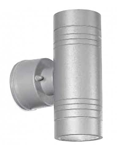 Applique da esterno biemissione alluminio