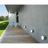 Applique da esterno circolare alluminio