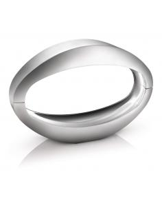 Nister table Lamp LED aluminium oval brushed