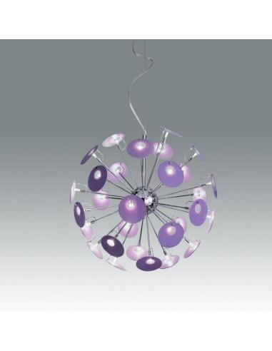 SUSPENSION LILAC G4