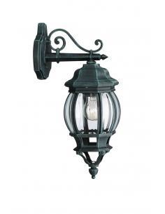 Dubrovnik - wall Lamp lantern american down green antique