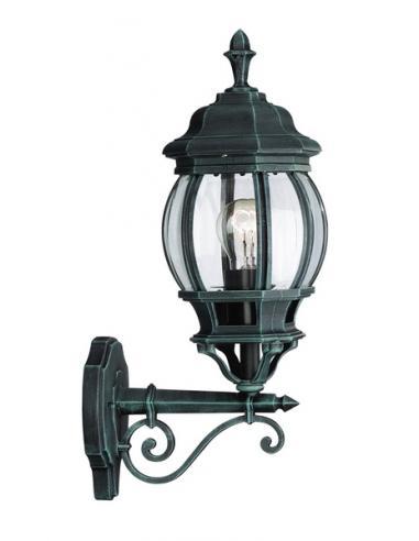 Dubrovnik - wall Lamp lantern american up green antiqued