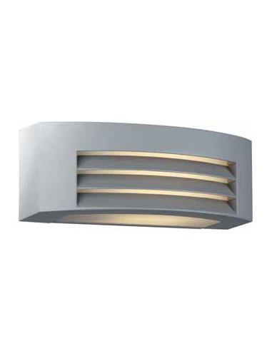 DURBAN - Applique - Esterno Rettangolare Alluminio