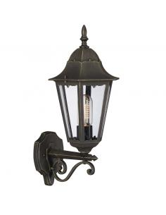 Zagreb - wall Lamp lantern great up with antique gold hardware
