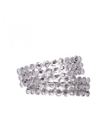 Diamante AP2 - Applique, cristallo trasparente