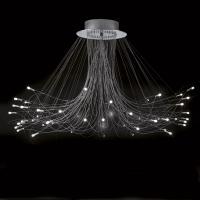 Metal Spot 50753 LED Chandelier, Fountain, Built-in Led 48 Lights