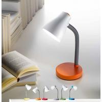 Perenz 6036 C Lampada Tavolo Plastica Azzurra Base Rotonda