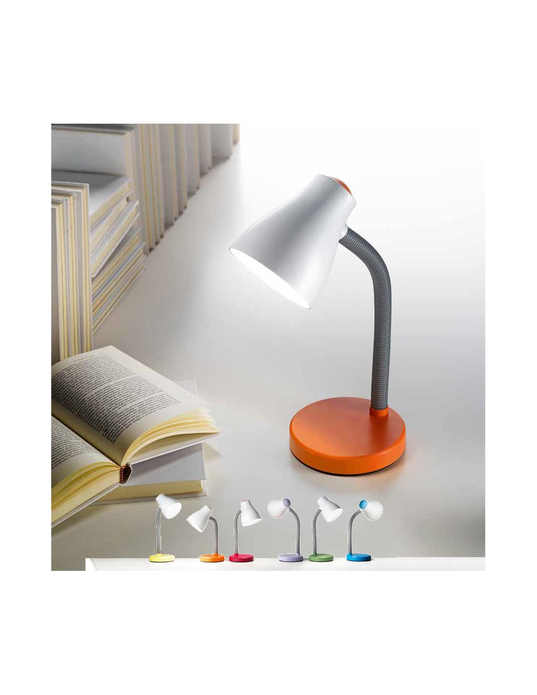 Table Lamp In Plastic Blue Color