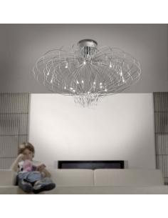 ASCOT ceiling lamp 14 lights