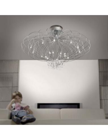 ASCOT ceiling lamp 14 lights