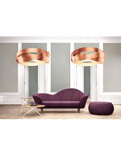 PURE 100 - suspension Lamp gold leaf