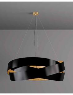 PURE 120 - Suspension black/gold leaf