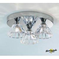 Illuminating DOMUSPL3TONDA Domus Ceiling Lamp 3 Lights Round