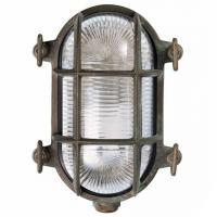 Moretti Luce 200.15T.AR Lampada da Parete/Soffitto Ovale Ottone