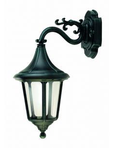 LAMPADA PARETE UP DA ESTERNO NERO/VERDE