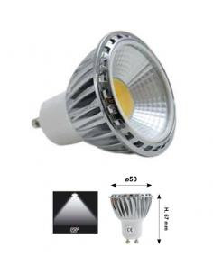 LED bulb COB 5W 230V dimmable warm white
