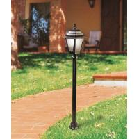 Moretti Light 56R3.3 Pole For External Black Silver/Smoked Glass