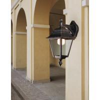 Moretti Luce 591.6 Lampada Parete Nero/Ramato Vetro Fumè