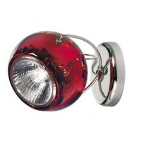 Fabbian D57G1303 Lamp Wall/Ceiling Red Beluga