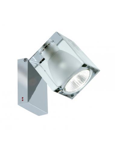 CUBETTO, lampada orientabile da parete o soffitto