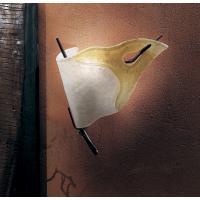 Sillux LP 6/212A DX Firenze Lampada Parete Destra Bianco/Ambra