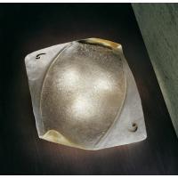 Sillux LS 4/226 Atene Lampada da Soffitto in Vetro Bianca/Oro