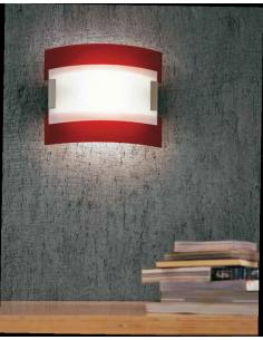 NEW YORK, wall lamp red