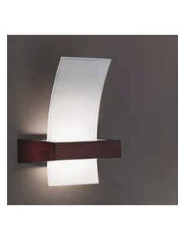 Wood, wall lamp