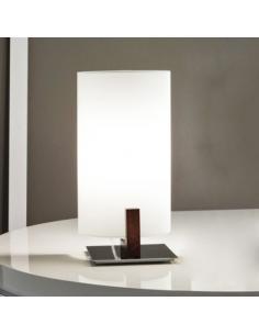 Wood table lamp