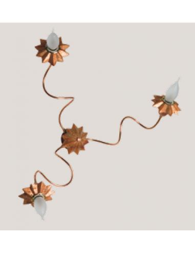 PIENZA, lampad da soffitto in rame