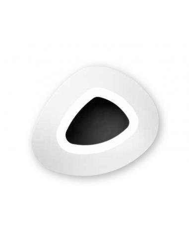 MANILA CEILING LIGHT SMALL BLACK LED