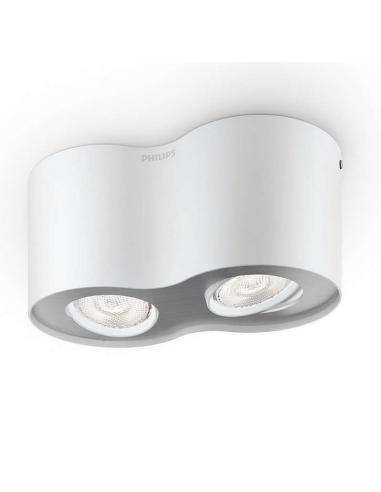 Spot PHASE double-9W 1000lm WHITE