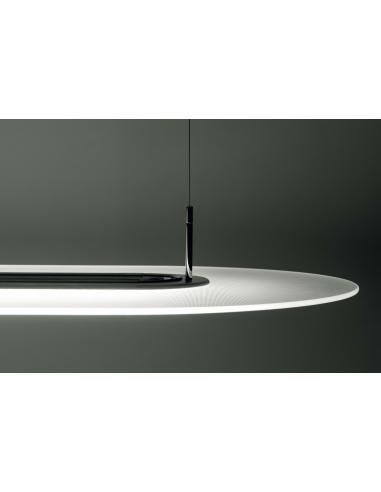 Opti-Line P Sospensione LED 5685lm Nera