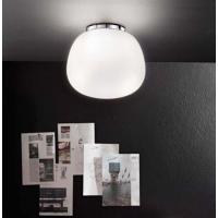 Perenz 6356 Lampada da Soffitto Cromo Lucido Base Rotonda