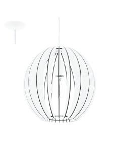 COSSANO, suspension white wood