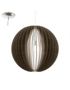COSSANO, suspension, dark wood D70