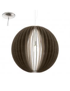 COSSANO, suspension, dark wood D70