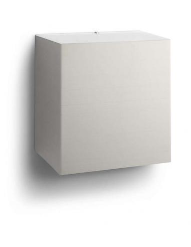 Philips - Macaw, Lampada da parete Led in acciaio inox, luce bidirezionale