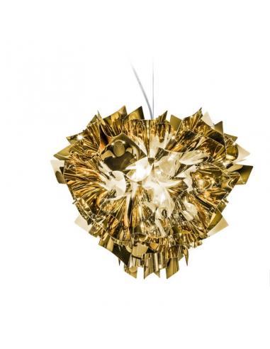 Slamp - Veli gold suspension Lamp