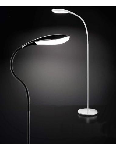 Piantana snodabile nera LED 12W