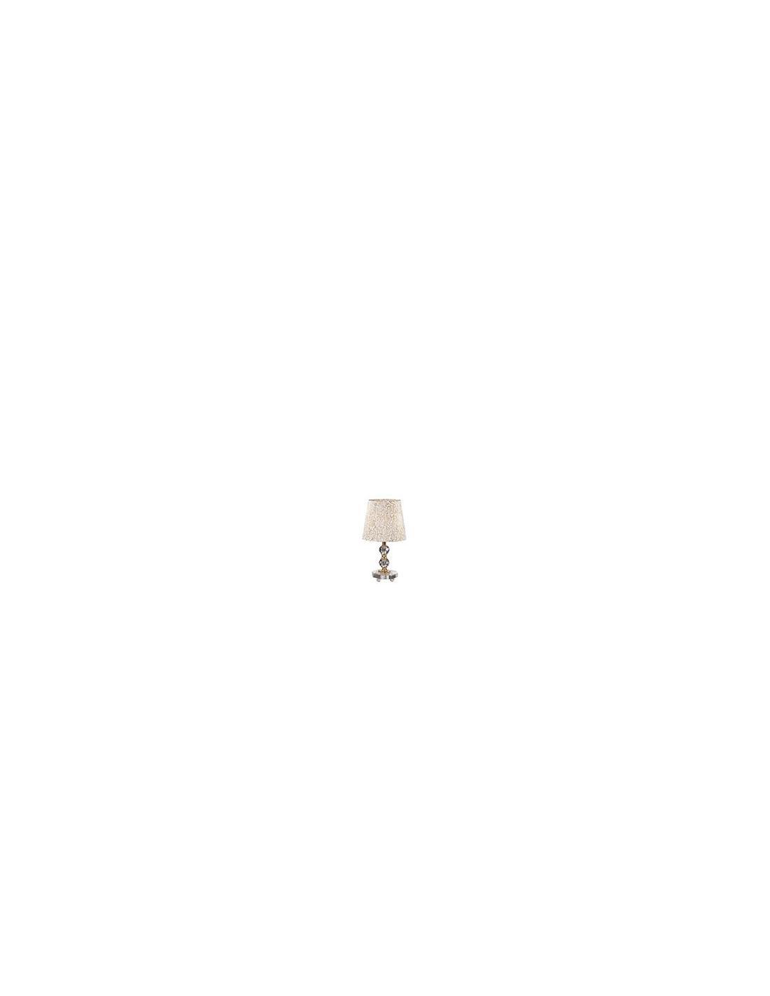 Lampade Da Tavolo Massive : Ideal lux queen tl lampada da tavolo piccola
