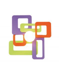 Kuadra D40 multicolor