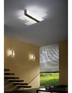 TRIAD-ceiling light large Walnut