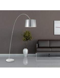 PENN floor lamp white aluminium