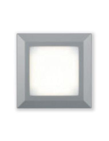 SMOK quadrata 4.5W 3000°K IP44 grigio