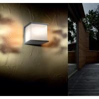Pan EST230 Poker Lampada Parete Alluminio Piccola E27 15W Ip44