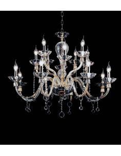 ROXANNE LAMP. 16L CRISTALLO